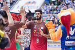 San Pablo Burgos Alex Barrera during Liga Endesa match between San Pablo Burgos and Gipuzkoa Basket at Coliseum Burgos in Burgos, Spain. December 30, 2017. (ALTERPHOTOS/Borja B.Hojas)