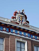 Nederland - Hoorn- 2020.     Gevel van het Westfries Museum aan de Roode Steen.   Foto ANP / HH / Berlinda van Dam