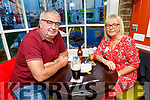 David and Mary Doyle from Tralee celebrating their 37th wedding anniversary in the Brogue Inn on Friday