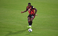 15th September 2020; Vitality Stadium, Bournemouth, Dorset, England; English Football League Cup, Carabao Cup Football, Bournemouth Athletic versus Crystal Palace; Nnamdi Ofoborh of Bournemouth plays the ball into attack