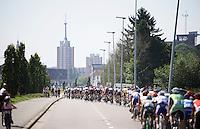 13 laps around Leuven<br /> <br /> GP Jef Scherens 2015