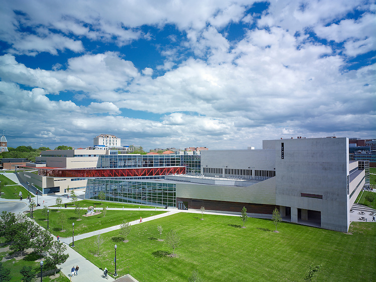 The Ohio State University Recreation & Physical Activity Center (RPAC) | Antoine Predock & Moody Nolan