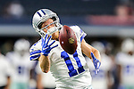 Dallas Cowboys wide receiver Cole Beasley (11) in action before the pre-season game between the Houston Texans and the Dallas Cowboys at the AT & T stadium in Arlington, Texas.