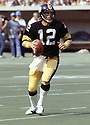 Pittsburgh Steelers Terry Bradshaw (12) during a game from his career with the Pittsburgh Steelers. Terry Bradshaw played 14 seasons, all for the Pittsburgh Steelers, was a 3-time Pro Bowler, 1-time first team Pro Bowler and was inducted to the Pro Footbal Hall of Fame in 1989.(SPORTPICS)