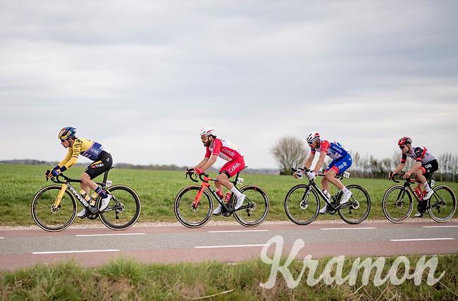 Primoz Roglic (SVN/Jumbo-Visma)<br /> <br /> 55th Amstel Gold Race 2021 (1.UWT)<br /> 1 day race from Valkenburg to Berg en Terblijt; raced on closed circuit (NED/217km)<br /> <br /> ©kramon