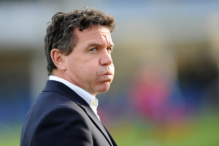 Mike Ford, Bath Rugby Head Coach, during the European Rugby Champions Cup match between Bath Rugby and RC Toulon - 23/01/2016 - The Recreation Ground, Bath Mandatory Credit: Rob Munro/Stewart Communications