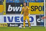 Waldhofs Jan-Christoph Bartels (Nr.23) am Ball beim Spiel in der 3. Liga, SV Waldhof Mannheim - FC Ingolstadt.<br /> <br /> Foto © PIX-Sportfotos *** Foto ist honorarpflichtig! *** Auf Anfrage in hoeherer Qualitaet/Aufloesung. Belegexemplar erbeten. Veroeffentlichung ausschliesslich fuer journalistisch-publizistische Zwecke. For editorial use only. DFL regulations prohibit any use of photographs as image sequences and/or quasi-video.