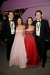 """From left: Lane Ware, Anna Johnson, Sarah Johnson and Carter Ware at the San Luis Salute """"Space Pirates"""" VIP reception Friday February 24,2017. (Dave Rossman Photo)"""