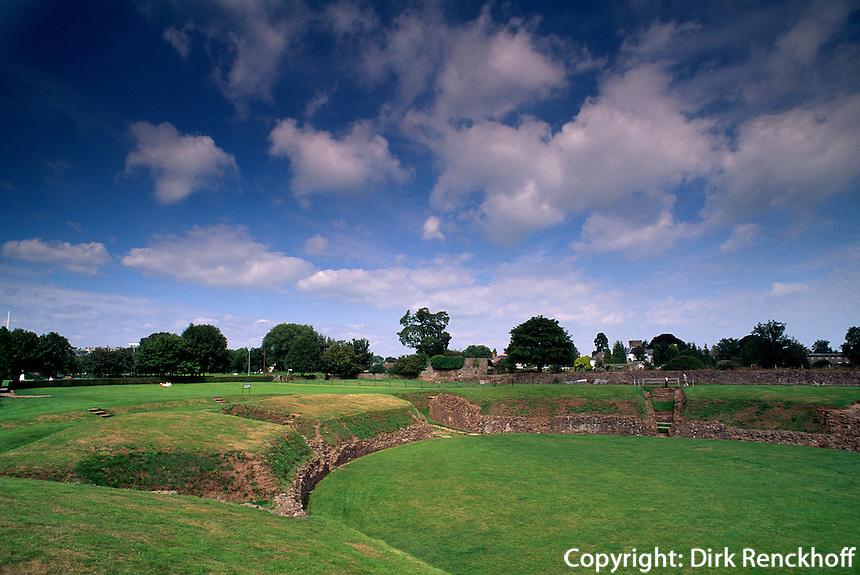 Großbritannien, Wales, Caerleon, Römisches Thaeter