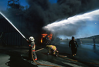 Training (Firemen)..They have an elaborate platform mockup that they can set multiple fires on at will.  You don't build this type of facility to train just a handful of people.....they are banking on the Terra Nova and White Rose platforms as well as a host of other support rigs...