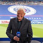 22.08.2020 Rangers v Kilmarnock: Walter Smith in the Rangers TV studio