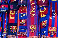 Barcelona FC fan gear, Barcelona, Spain.