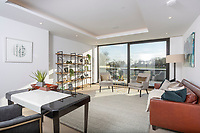 BNPS.co.uk (01202) 558833<br /> Pic: Savills/BNPS<br /> <br /> Huge windows make the most of the stunning views<br /> <br /> A striking high-tech eco home that would not look out of place in a Bond film is on the market for offers over £4m.<br /> <br /> Skyfall is a luxurious house in the Berkshire countryside designed to be totally carbon free.<br /> <br /> With its luxe white interiors, minimalist decor and stunning countryside surroundings, the five-bedroom property would fit effortlessly into 007's world.<br /> <br /> But it's the eco features of the brand new house, which is just outside the village of Taplow with Huntswood Golf Course next door, that make it really stand out.