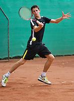2013-08-17, Netherlands, Raalte,  TV Ramele, Tennis, NRTK 2013, National Ranking Tennis Champ,  Daan Maasland<br /> <br /> Photo: Henk Koster