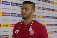 Tampa, FL - July 12, 2017: Dom Dwyer The USMNT (USA) defeated Martinique (MAR) 3-2 in a 2017 Gold Cup group stage match at Raymond James Stadium.