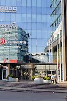 Einkaufszentrum an der Narvastr.in Tallinn (Reval), Estland, Europa