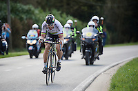 World Champion Peter Sagan (SVK/Tinkoff) on his way to his biggest classic win to date<br /> <br /> 100th Ronde van Vlaanderen 2016