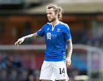Dundee United v St Johnstone…..01.08.20   Tannadice  SPFL<br />Stevie May<br />Picture by Graeme Hart.<br />Copyright Perthshire Picture Agency<br />Tel: 01738 623350  Mobile: 07990 594431
