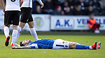 St Mirren v St Johnstone…19.10.19   St Mirren Park   SPFL<br />Matty Kennedy reacts after missing his chance to scorew<br />Picture by Graeme Hart.<br />Copyright Perthshire Picture Agency<br />Tel: 01738 623350  Mobile: 07990 594431