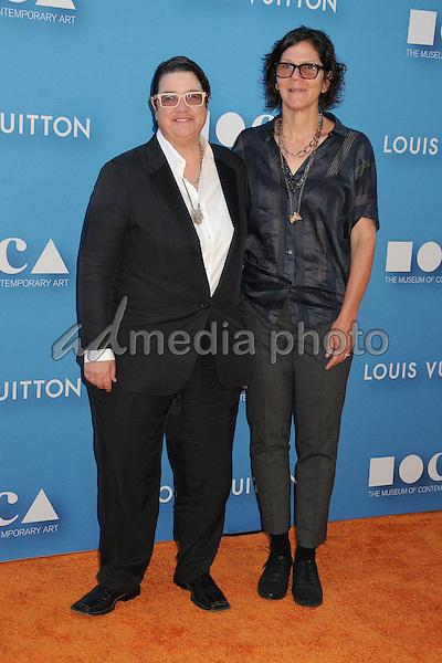 30 May 2015 - Los Angeles, California - Catherine Opie, Julie Burleigh. MOCA Gala 2015 held at The Geffen Contemporary at MOCA. Photo Credit: Byron Purvis/AdMedia