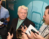 MIAMI BEACH, FL - JANUARY 28: Jimmy Johnson attends the Fox Sports Media Day during Super Bowl LIV week on January 28, 2020 in Miami Beach, Florida. (Photo by Frank Micelotta/Fox Sports/PictureGroup)