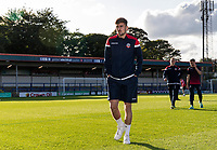 Bolton Wanderers' Jordan Boon pictured before the match<br /> <br /> Photographer Andrew Kearns/CameraSport<br /> <br /> The Carabao Cup First Round - Rochdale v Bolton Wanderers - Tuesday 13th August 2019 - Spotland Stadium - Rochdale<br />  <br /> World Copyright © 2019 CameraSport. All rights reserved. 43 Linden Ave. Countesthorpe. Leicester. England. LE8 5PG - Tel: +44 (0) 116 277 4147 - admin@camerasport.com - www.camerasport.com