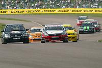 Round 2 of the 2005 British Touring Car Championship. #6. Colin Turkington (IRL). VX Racing. Vauxhall Astra Sport Hatch. #9. Tom Chilton (GBR). Arena Motorsport. Honda Civic Type-R.