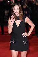 "Kaya Scodelario<br /> arriving for the ""Maze Runner: The Death Cure"" Fan Screening at the Vue West End, Leicester Square, London<br /> <br /> <br /> ©Ash Knotek  D3370  22/01/2018"