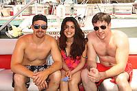 05-14-11 Actors take a break on Pontoon Boats - 2 of 7