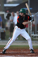 Jake Cave participates in the World Wood Bat Classic at the Roger Dean Complex in Jupiter, Florida on October 22, 2010.  Photo By Stacy Jo Grant/Four Seam Images