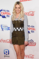 Louisa Johnson<br /> at the Jingle Bell Ball 2016, O2 Arena, Greenwich, London.<br /> <br /> <br /> ©Ash Knotek  D3208  03/12/2016