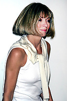 ANNA WINTOUR 2004<br /> AT OLYMPUS FASHION WEEK: MARC JACOBS SPRING 2005 COLLECTION AT PIER 54 IN NEW YORK CITY <br /> Photo By John Barrett/PHOTOlink /MediaPunch
