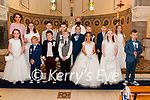 Lixnaw 1st Communion: Mrs Naughton's class from Lixnaw NS who received thier 1st communion from Fr. Anthony O'Sullivan in St. Michael's Church, Lixnaw on Saturday last.
