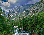 South Fork Kings River, Kings Canyon National Park, Tulare County, California, USA
