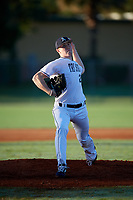 Kellan Tulio during the WWBA World Championship at the Roger Dean Complex on October 19, 2018 in Jupiter, Florida.  Kellan Tulio is a left handed pitcher from Emmaus, Pennsylvania who attends Emmaus High School and is committed to Louisville.  (Mike Janes/Four Seam Images)