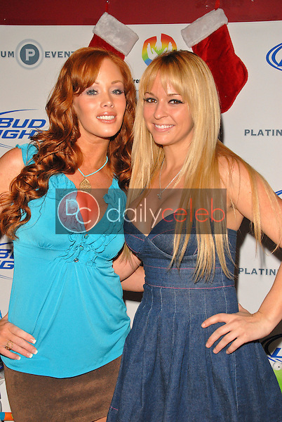 Christine Smith and Heather Renee Smith<br /> at Bridgetta Tomarchio B-Day Bash and Babes in Toyland Toy Drive, Lucky Strike, Hollywood, CA. 12-04-09<br /> David Edwards/Dailyceleb.com 818-249-4998