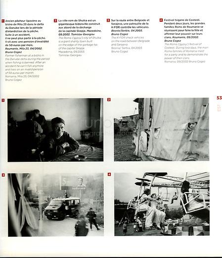 FRANCE, 2008.Présentation du collectif EST dans Collectifs/Collectives..Presentation of EST, collective of photographers, in Collectifs/Collectives..© Bruno Cogez