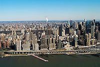 aerial photograph Manhattan, New York City
