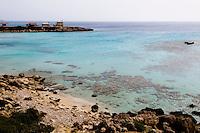 Nordzypern, Strand bei Hotel Blue Bird, Karpaz-Halbinsel (Karpasia)