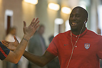 Carson, CA - Sunday, February 8, 2015: Jozy Altidore (17) of the USMNT. The USMNT defeated Panama 2-0 during an international friendly at the StubHub Center