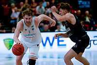 GRONINGEN - Basketbal, Donar - Apollo Amsterdam , Dutch Basketbal League, seizoen 2021-2022, 26-09-2021,  Donar speler Austin Luke