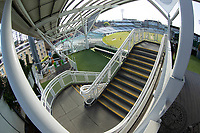 An unusual view down a stair well at the Oval during Surrey CCC vs Hampshire CCC, LV Insurance County Championship Group 2 Cricket at the Kia Oval on 1st May 2021