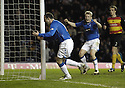 19/03/2008    Copyright Pic: James Stewart.File Name : sct_jspa08_rangers v partick.KRIS BOYD CELEBRATES AFTER SCORING THE EQUALISER.James Stewart Photo Agency 19 Carronlea Drive, Falkirk. FK2 8DN      Vat Reg No. 607 6932 25.Studio      : +44 (0)1324 611191 .Mobile      : +44 (0)7721 416997.E-mail  :  jim@jspa.co.uk.If you require further information then contact Jim Stewart on any of the numbers above........