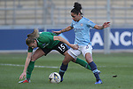 Demi Stokes of Manchester City Women and Kayleigh Green of Brighton Women