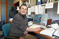 """CNR (Consiglio Nazionale delle Ricerche) radiotelescopio """"Croce del Nord"""" a Medicina (Bologna), professor Stelio Montebrugnoli, direttore della Stazione Radioastronomica; il telescopio fa parte del progetto internazionale SETI (Ricerca di Intelligenza Extraterrestre)<br /> <br /> - CNR (National Research Council), radio telescope """" Cross of the North """" at Medicina ( Bologna, Italy ), professor Stelio Montebrugnoli, director of Radioastronomic Station; the telescope is part of the international project SETI (Search for Extraterrestrial Intelligence)"""