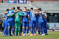 Lilien schwoeren sich ein<br /> <br /> - 24.07.2021 Fussball 2. Bundesliga, Saison 21/22, Spieltag 1, SV Darmstadt 98 - SV Jahn Regensburg, Stadion am Boellenfalltor, emonline, emspor, <br /> <br /> Foto: Marc Schueler/Sportpics.de<br /> Nur für journalistische Zwecke. Only for editorial use. (DFL/DFB REGULATIONS PROHIBIT ANY USE OF PHOTOGRAPHS as IMAGE SEQUENCES and/or QUASI-VIDEO)