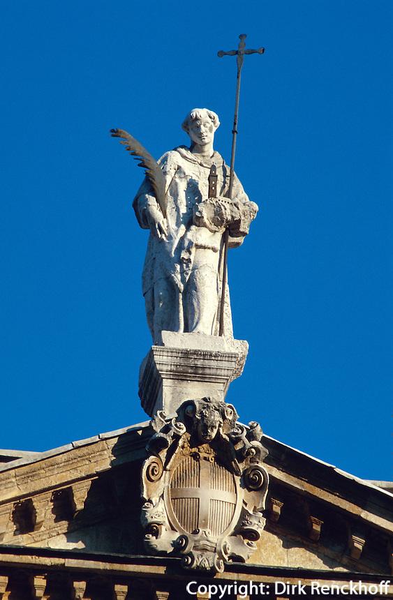 Detail Chiesa di San Vincenzo, Vicenza,  Venetien, Italien, Unesco-Weltkulturerbe