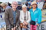 Enjoying the Pattern day in Ballyheigue on Sunday<br /> L to r: Michael Stack (Lixnaw), Helen O'Hara (Ardfert) and Saudah O'Brien (Ardfert).