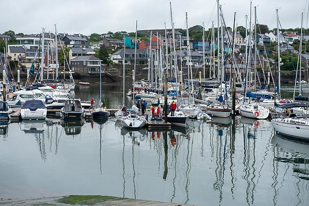 Kinsale Yacht Club has increased interest in this weekend's Fastnet race in association with SCORA Photo: Bob Bateman
