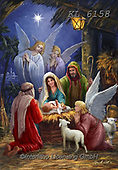 Interlitho-Marcello, HOLY FAMILIES, HEILIGE FAMILIE, SAGRADA FAMÍLIA, paintings+++++,holy family,angels,KL6158,#xr#
